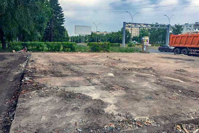 В Новом городе Тольятти незаконно размещенный павильон площадью 184 квадратных метра