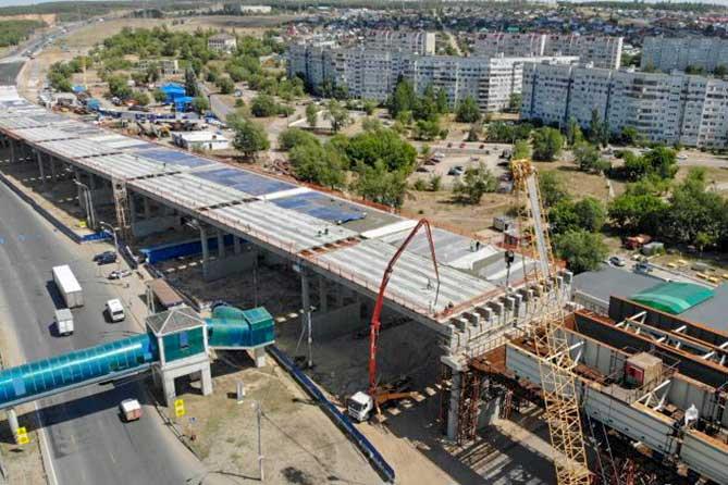 Строительство транспортной развязки на трассе М-5 «Урал» в Тольятти планируется завершить в конце 2019 года