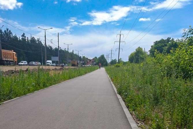 В Тольятти продолжается благоустройство буферной зоны вдоль улицы Родины