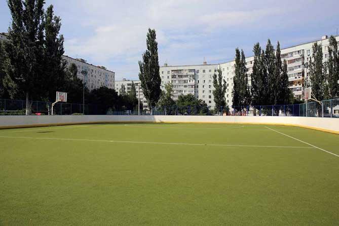 В 2019 году в Тольятти будут построены три универсальные спортплощадки