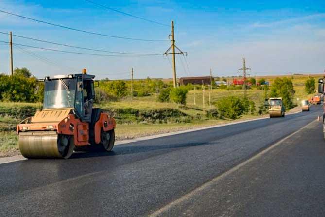 На участке ремонта трассы М-5 организовано реверсивное движение 16 августа 2019 года