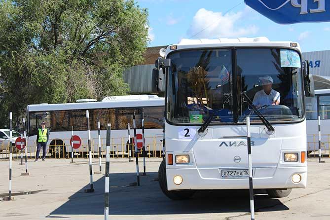 Конкурс профмастерства 2019: Водители автобусов Тольятти – лучшие в области
