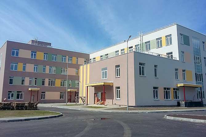 строительство детской поликлиники в Медгородке 14 августа 2019 года