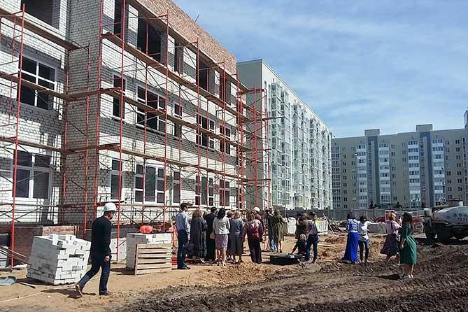 ФСК «Союз», детсад в микрорайоне «Калина», детская поликлиника: Новые объекты в Тольятти будут построены в срок