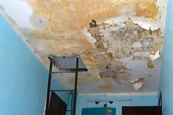 В Тольятти дом на бульваре Курчатова затопило ливнем после капитального ремонта