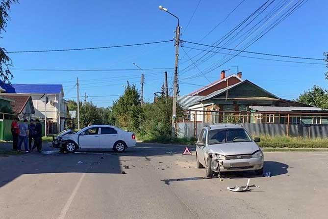 ДТП 25 августа 2019 года на улице Первомайской