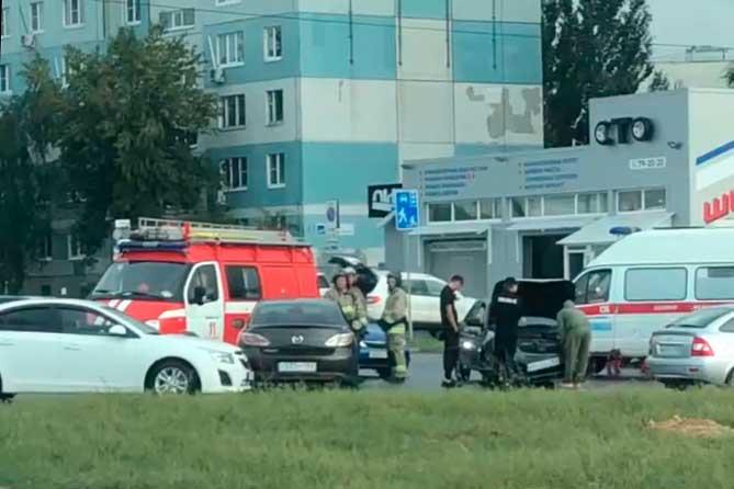 В ДТП на Южном шоссе пострадала 4-летняя пассажирка автомобиля