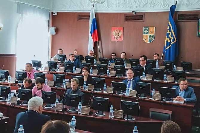 Сорвано важное заседание думы Тольятти 7 августа 2019 года