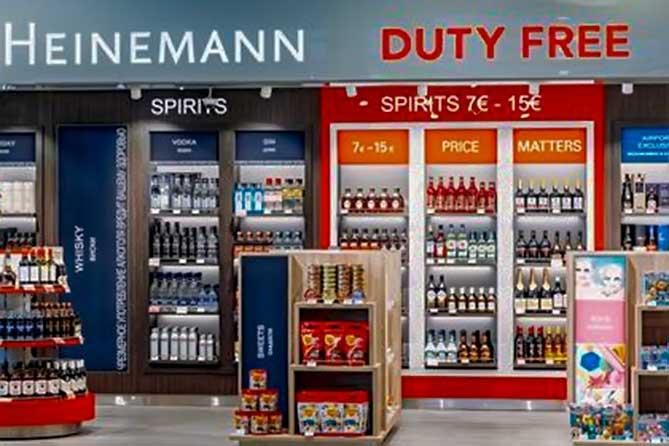 Аэропорт Курумоч: В зоне прилета открылся Duty Free