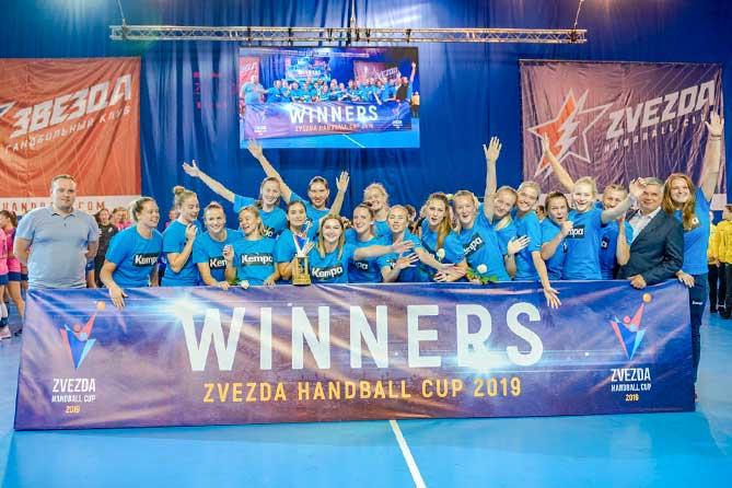Гандбольная команда «Лада» одержала победу над финским клубом ХИФК на международном турние «Zvezda Handball Cup»