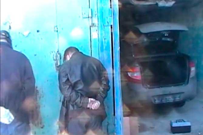 40-летнего мужчину задержали в гаражном массиве: Лишение свободы на 10 месяцев