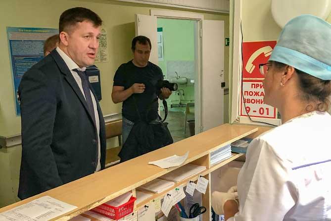 В Тольятти министр здравоохранения встретился с пациентами и медработниками 7 августа 2019 года