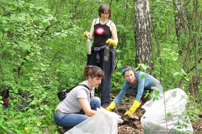 Акция «Чистый лес» в Тольятти набирает обороты