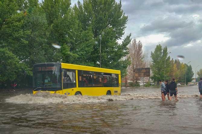 Штормовое предупреждение: 5 и 6 августа 2019 года грозы, ливни, град, сильный ветер