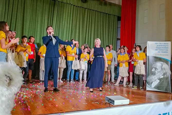 Знакомство с профессиями будущего: В Тольятти начал работу форум для школьников «Созвездие IQ» — Самарский «НАНОГРАД» 2019