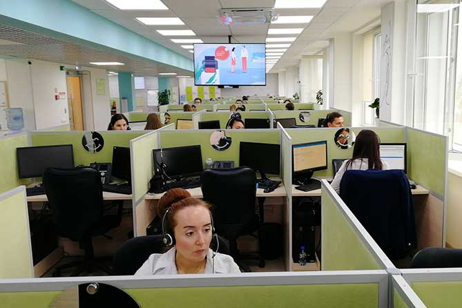 работники Центра корпоративных решений Сбербанка