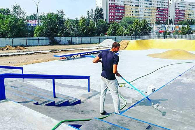 Спортсмены 2 сентября планируют провести первые пробные катания на скейтплощадке в Тольятти