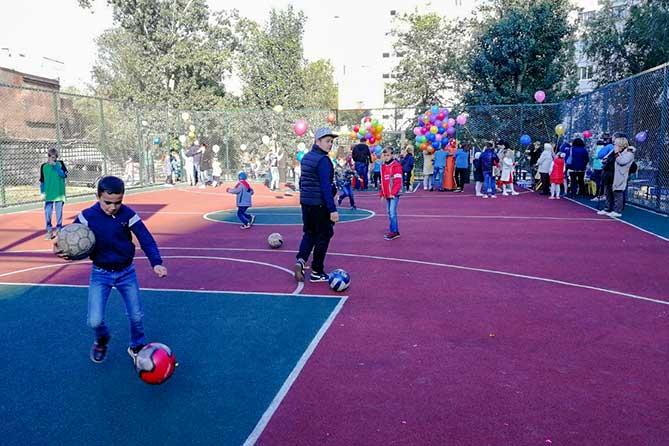 В Тольятти 29 августа 2019 года открылась новая спортивная площадка