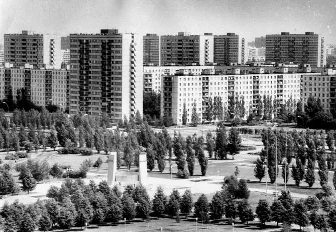 Автозаводский район на старой фотографии