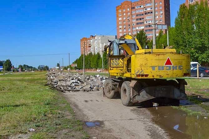 Дорожные работы в Тольятти выполнены на 50% от плана на 2019 год