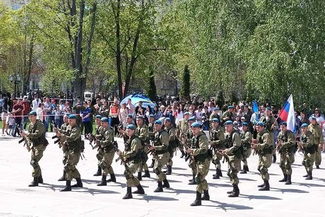 Поздравление с Днем воздушно-десантных войск 02.08.2019