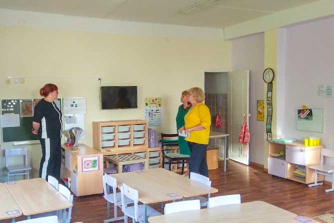 В детских садах Тольятти после капитального ремонта готовятся к новоселью