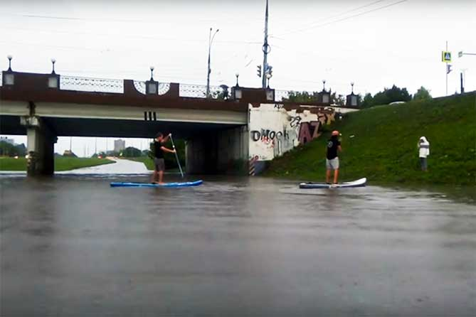 затопило тольятти