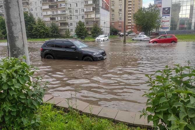В Тольятти 5 августа 2019 года побит рекорд 1976 года по выпавшим осадкам