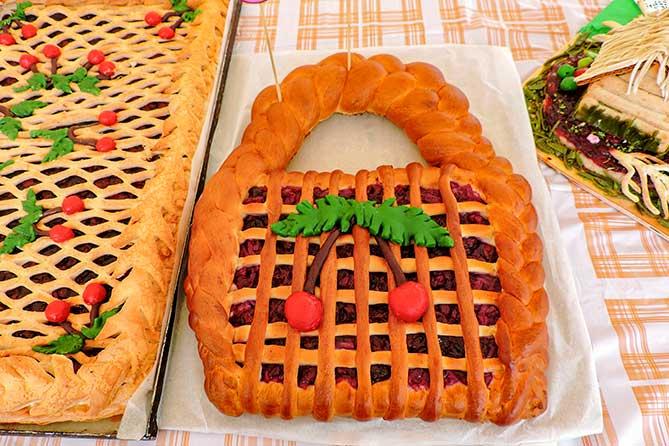 небольшой конкурсный пирог