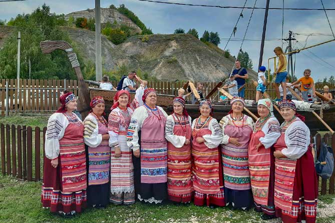 женщины выступили в ширяево