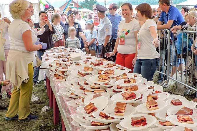 В селе Ширяево состоялся фестиваль «Жигулевская вишня» 2019