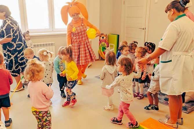В четырех детских садах Тольятти открылись новые группы для детей раннего возраста