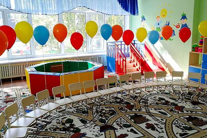 В дошкольных учреждениях Тольятти продолжают открывать ясельные группы