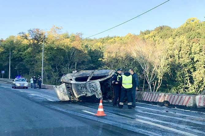 В результате ДТП на автодороге М-5 погиб водитель автомобиля «Lada Vesta»