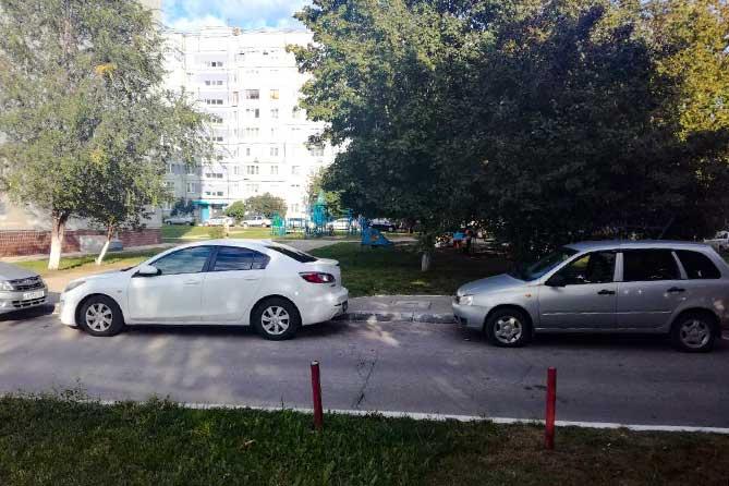 В жилой зоне Тольятти 1 сентября произошло ДТП: 9-летний мальчик получил травмы
