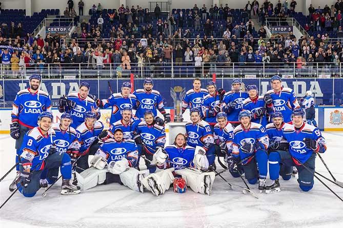 ХК «Лада» стал победителем «Кубка LADA» 2019