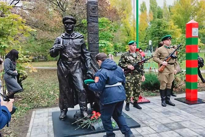 В Тольятти установлен памятник, посвященный пограничным войскам и ветеранам пограничной службы