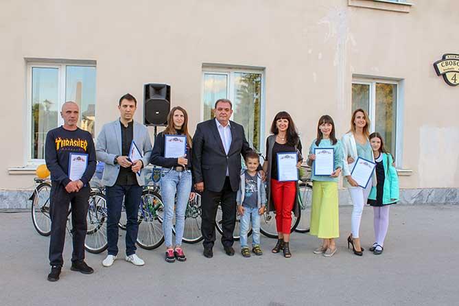 Тольяттинцам-победителям акции «Чистый лес» 2019 вручили велосипеды