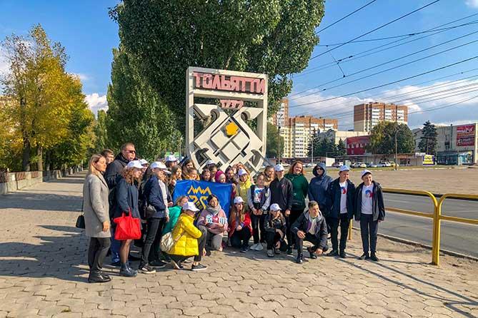 Участники проекта «Прошагай город Тольятти» прошли по трем маршрутам города и отметили новые туристические объекты на картах