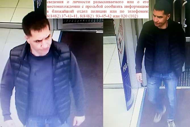 В Тольятти разыскивают мужчину 30-35 лет, подозреваемого в краже из магазина 16 сентября 2019 года