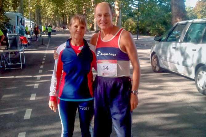 Игорь и Ольга Агишевы из Тольятти участвовали в ультрамарафоне во Франции