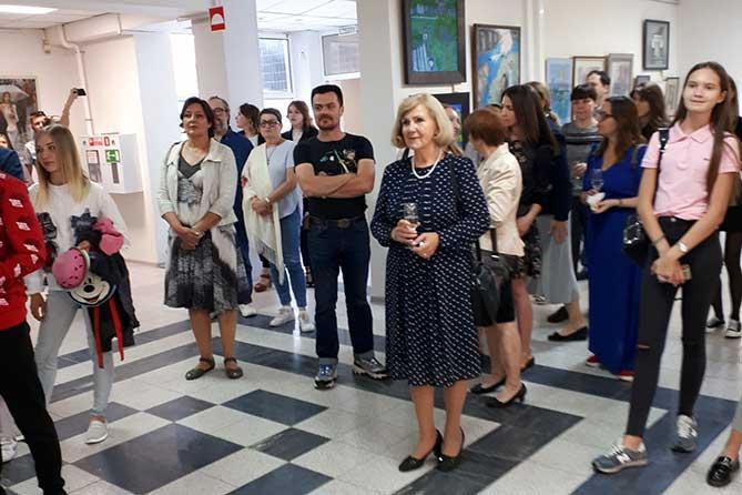 Искусство – городу: В Музее актуального реализма Тольятти открылась выставка