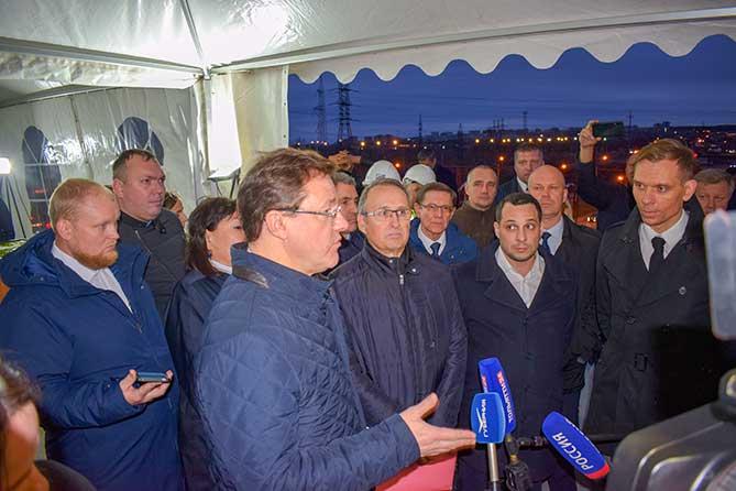 Новый срок завершения строительства транспортной развязки на М-5 в Тольятти