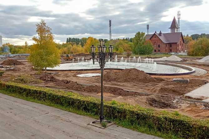Два сквера в Тольятти вырастут из грязи