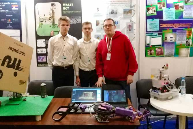 Две команды из тольяттинского технопарка «Кванториум 63» стали участниками финала Международного конкурса детских инженерных команд «Кванториада» 2019