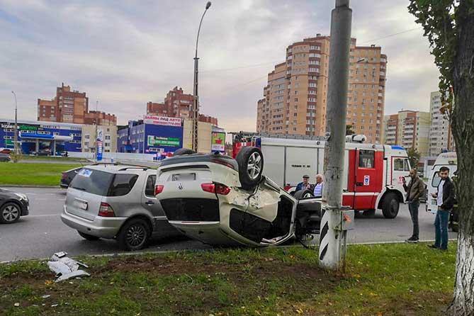 Перевернулся автомобиль в Тольятти: Водителя 5 раз лишали права управления автомобилем на 18 месяцев