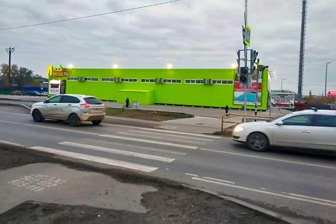 На одном из самых аварийных пешеходных переходов Тольятти установят дополнительные световые опоры