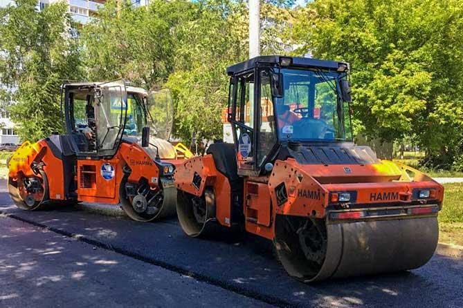 Ремонт внутриквартальных дорог в Тольятти ускорил «Волшебный пендаль»