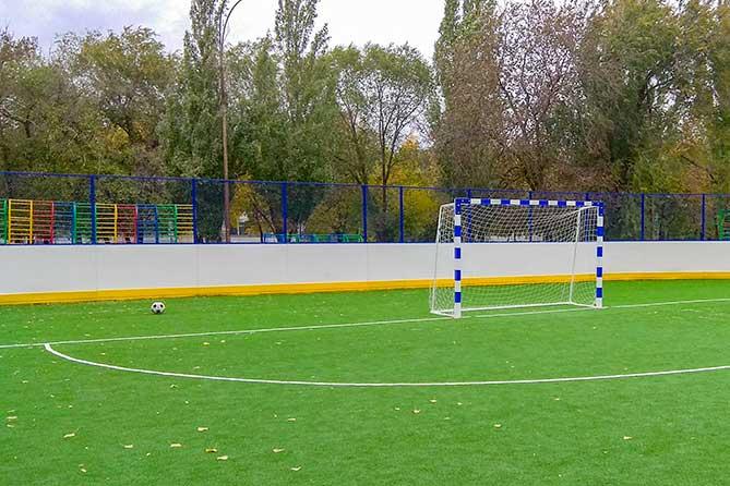 В Тольятти 1 октября 2019 года состоялось торжественное открытие двух спортивных площадок