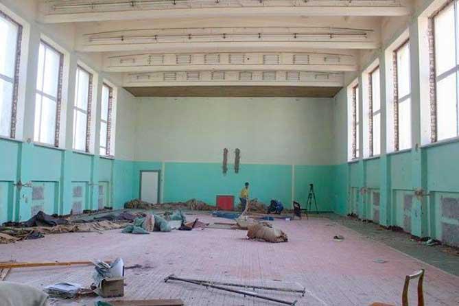 В здании Тольяттинской филармонии полным ходом идет капитальный ремонт